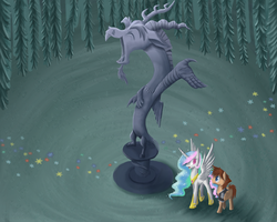Statue of Chaos by xilenobody143
