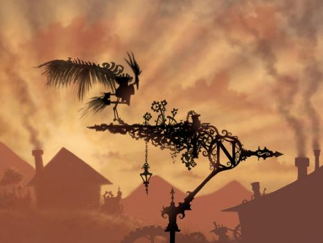 The Weather Vane by Ghotire