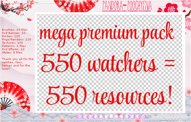 Thank you for the 550 watchers! - Read  Below by Pandora-Poochyena