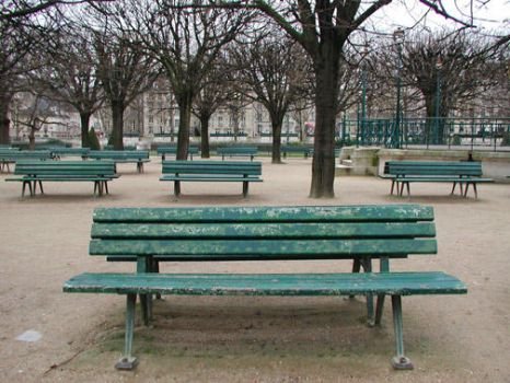 Park Benches, Paris by telophase
