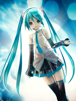 Appearance Miku by Virtual-World-TV