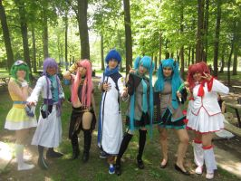 Vocaloid Groupe 03 by KyuProduction