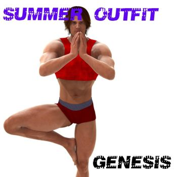 Genesis Summer outfit, by Farconville by FantasiesRealmMarket