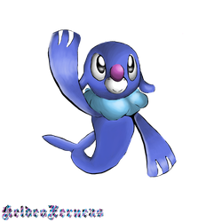 Popplio by Soniclover2010
