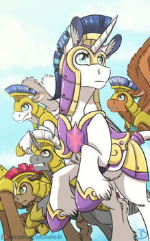 Captain of the Royal Guard by InuHoshi-to-DarkPen