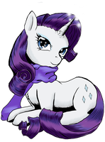 Rarity the Fabulous by MystressVulpes