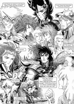 Saint Seiya #048 - The duty of a Knight by Gugaaa