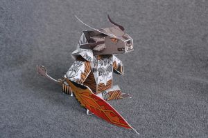 Papercraft Charr by Riot-Inducer