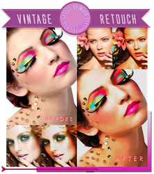 Vintage Retouch Action. by Mjzo