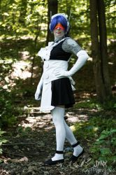 Mecha Maid cosplay by KrazyKrow