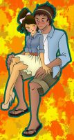 kimifire's Request OC's - Nicole and Liam 2 by Jburke2101