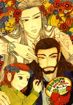 +v+ Thorin and Thranduil - Like One Family by vanitachi