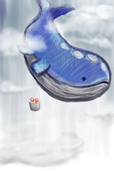 321 Wailord by Ipaintpokemon