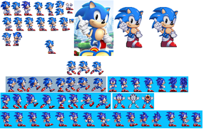 Sonic Generations Remake: Classic Sonic by SonicGenerations564s