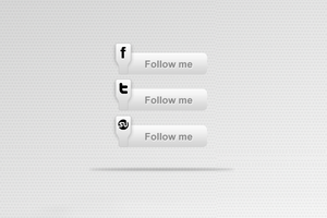 Social Media Icons Apple Style by psd-fan