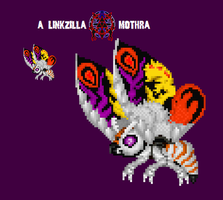 Mothra GMK Custom Sprite by Linkzilla