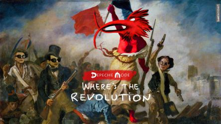 Depeche Mode : Where's The Revolution -delacroix- by IDAlizes