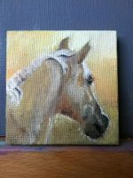 Palomino Mini-Painting by youvegotmaille