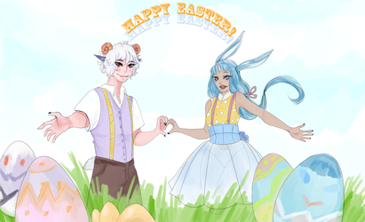 [PS] Easter Collab by cyube