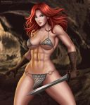 Red Sonja by Flowerxl