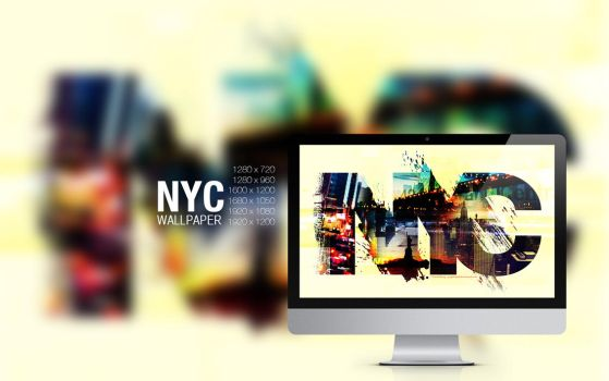 NYC wallpaper by graphiqual