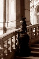 Lady in Dresden III by LunaFeles