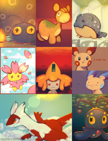 A LOT OF POKEMON