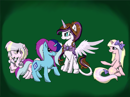 Request: Oc Group Picture by Tigerett