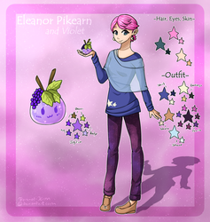 Cotton Candy Galaxy - OC Reference by Tears-of-Xion