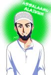 and he puts on his taqiyah by Nayzak