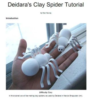 Naruto: Clay spider tutorial by RishiRamraj