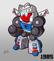 1985 Autobot Tracks by MattMoylan