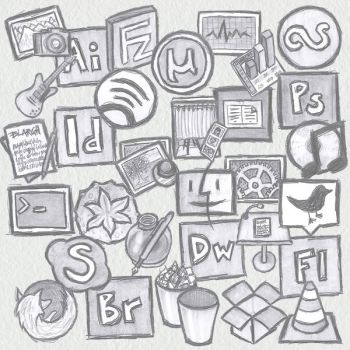 Graphite Icons by Nedmyr