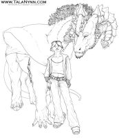 Eluthra and Clyde .2007. by Ahkahna
