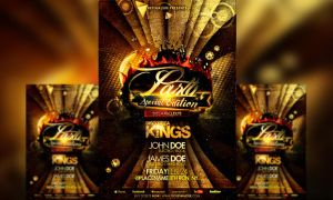 PSD Amazing Party Flyer Template by retinathemes