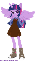 Equestria Girls Power Up Bases by Ameyal