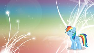 MLP: FiM -  Rainbow Dash V4 by Unfiltered-N