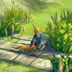 BOTW: Little Fox by EternaLegend