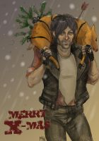 X-mas Daryl by MadHatters-Wife