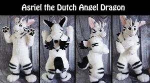 Asriel the dutch angel dragon by Maria-M--aka--Bakura