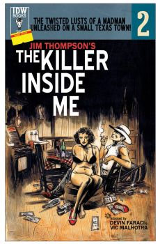 The Killer Inside Me #2 Variant Cover. by RobertHack