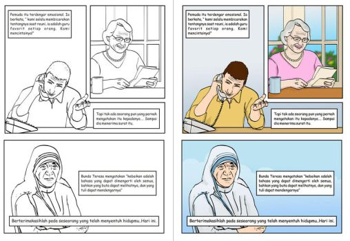 Comic illustration 03 by pramudya