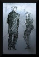 scorpius and lily sketch by HILLYMINNE