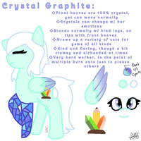Crystal Graphite by TheUltimateMagikarp