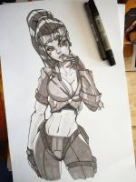 Widowmaker Talon by Teban1983
