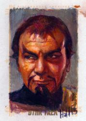 star trek 50th oil sketch 4 by charles-hall