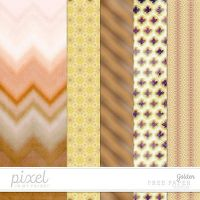 Gold // Papers by pixelinmypocket