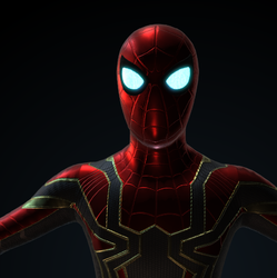 Iron Spider v.2 in The Revenge of Ultron by LaxXter