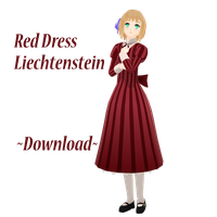 Red Dress Liechtenstein + Download by bufffycat