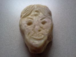 Lupa Soap Carving Side Two by LLAP